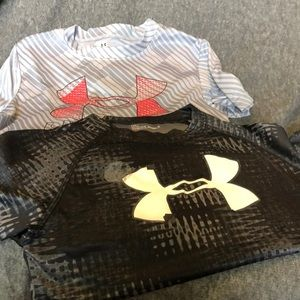 Bundle of Boys Under Armour Shirts